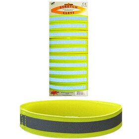 fasi Reflex Bracelet Con Stretch, amarillo/Plateado
